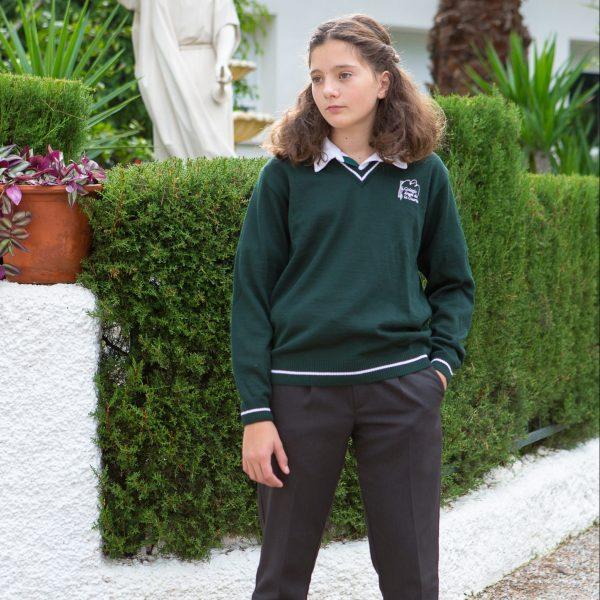 Pantalón Gris Largo (Chica) (2) - Centro Educativo Ángel de la Guarda